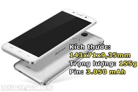 Can canh smartphone cam bien van tay, RAM 3 GB, gia hon 2 trieu - Anh 3