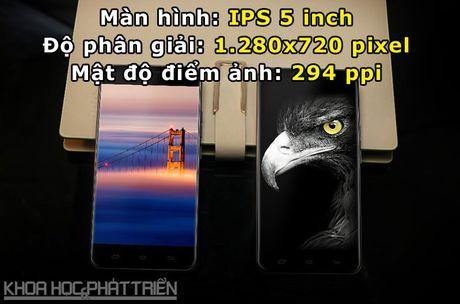 Can canh smartphone cam bien van tay, RAM 3 GB, gia hon 2 trieu - Anh 6
