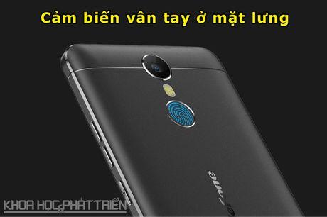 Can canh smartphone cam bien van tay, RAM 3 GB, gia hon 2 trieu - Anh 8