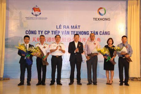 Ra mat cong ty Texhong - Tan Cang - Anh 1