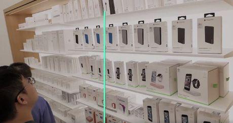 Hon 1.000 iFan tap trung chao mung Apple Store thu sau khai truong o Hong Kong - Anh 3