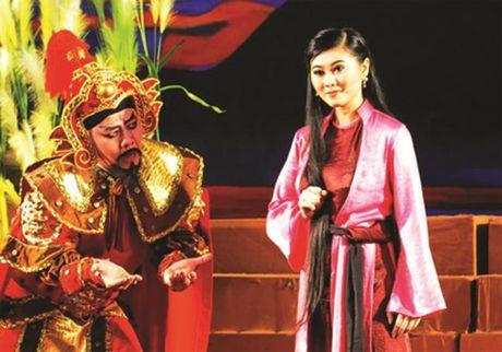 Vinh biet nghe si nhan dan Thanh Tong: Mot vi sao da lan... - Anh 2
