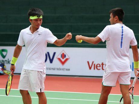 Hoang Nam va Hoang Thien vao chung ket doi nam Viet Nam F5 Futures - Anh 1