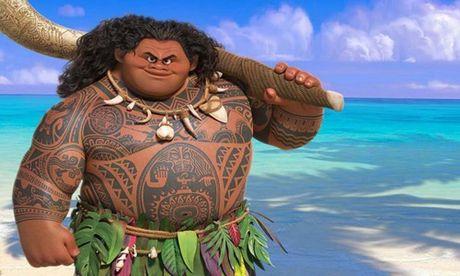 """Bom tấn Moana: Disney tuyên bố không bán trang phục Maui """"nửa lợn, nửa hà mã"""""""