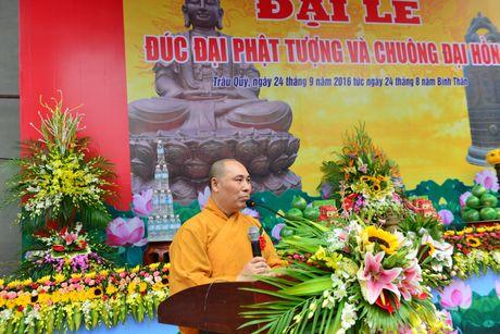 Những hình ảnh ấn tượng trong Đại lễ đúc Đại Phật tượng và Chuông Đại hồng chùa Phúc Long