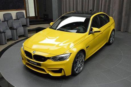 """BMW M3 """"vàng chóe"""", hàng thửa của đại gia Trung Đông"""