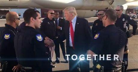 Sử dụng hình ảnh chưa xin phép, quảng cáo tranh cử của ông Trump bị bắt gỡ