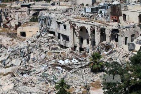 Syria da mo cuoc tan cong mat dat Aleppo - Anh 1