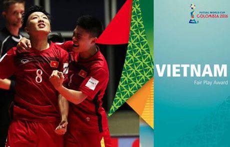 FIFA vinh danh doi tuyen Futsal Viet Nam - Anh 1