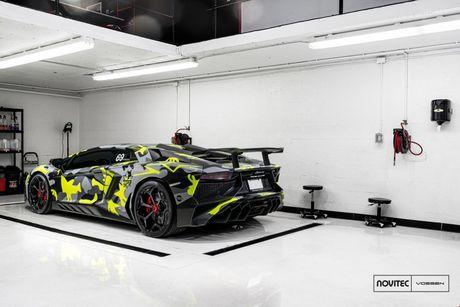 Hang do Novitec lai 'nghich' sieu xe cuc hiem, cuc dat, Lamborghini Aventador SV - Anh 3