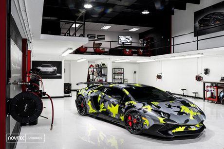 Hang do Novitec lai 'nghich' sieu xe cuc hiem, cuc dat, Lamborghini Aventador SV - Anh 8