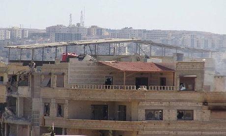 Quan doi Syria giai phong them loat khu vuc o Damascus - Anh 10