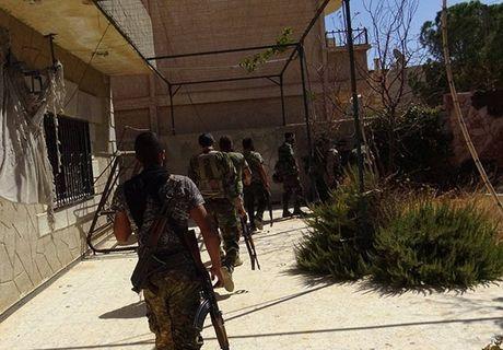 Quan doi Syria giai phong them loat khu vuc o Damascus - Anh 1