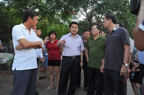 Chu tich Ha Noi thi sat hien truong ca chet trang Ho Tay - Anh 3