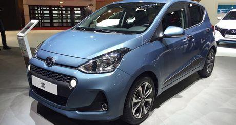 Hyundai i10 2017 dep hon nhieu so voi the he cu - Anh 1