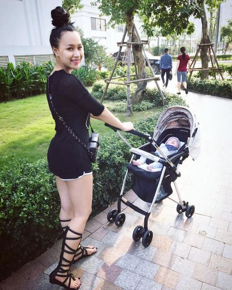 DJ Tit van mac boc lua sau khi sinh con 1 thang - Anh 3