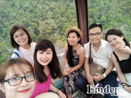 Cheo leo giua troi tren cay cau doc di nhat Malaysia - Anh 3
