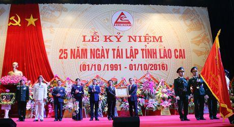 Lao Cai: Ky niem 25 nam Ngay tai lap tinh - Anh 2