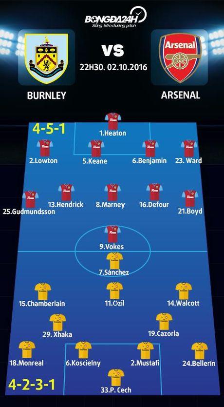 "Burnley vs Arsenal (22h30 ngay 2/10): Khi ""phao thu"" thang hoa - Anh 3"