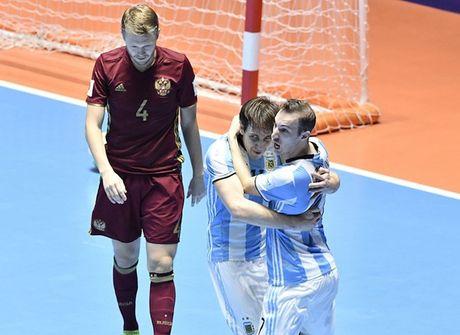 Thang nghet tho Nga trong tran chung ket, Argentina vo dich FIFA Futsal World Cup 2016 - Anh 1
