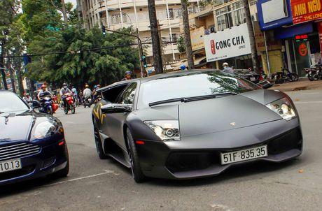 Sieu xe Lamborghini cu cua Minh Nhua ra bien so moi - Anh 11