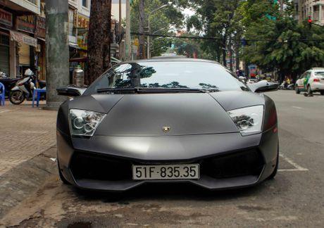 Sieu xe Lamborghini cu cua Minh Nhua ra bien so moi - Anh 1