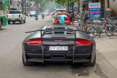 Sieu xe Lamborghini cu cua Minh Nhua ra bien so moi - Anh 3