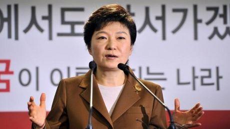 Tong thong Park Geun-hye 'moi' nguoi dan Trieu Tien tron sang Han Quoc - Anh 1