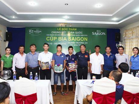 24 doi bong tham du vong chung ket Cup bia SaiGon 2016 - Anh 1