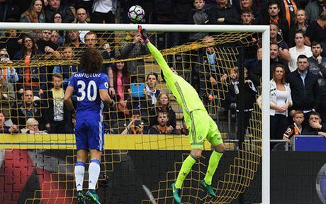 Clip: Courtois cuu thua xuat than o tran Hull City 0-2 Chelsea - Anh 1