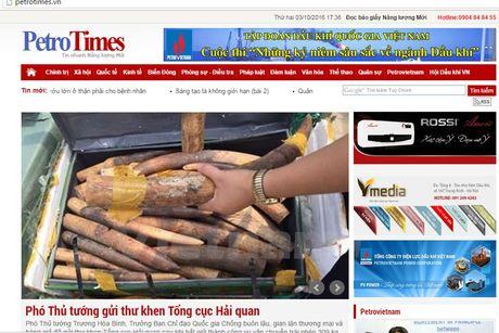Dinh ban bao Petrotimes 3 thang, thu hoi The nha bao cua Tong Bien tap - Anh 1