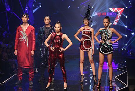 Quan quan Vietnam's Next Top Model 'lep ve' truoc hot girl Fung La? - Anh 2