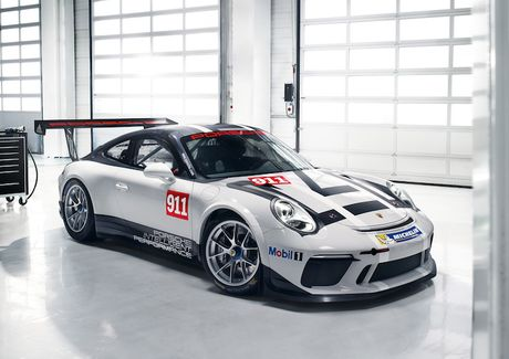 Can canh 'xe dua hang khung' Porsche 911 GT3 Cup moi - Anh 1