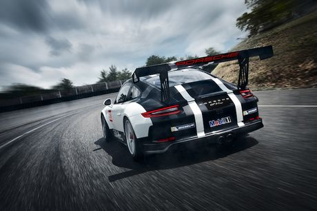Can canh 'xe dua hang khung' Porsche 911 GT3 Cup moi - Anh 6