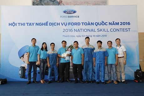 Ford to chuc Hoi thi tay nghe toan quoc lan thu 9 - Anh 3