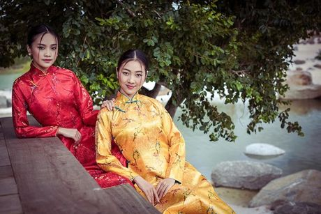 Dan nguoi dep Hoa hau Viet Nam dep me man voi ao dai - Anh 11