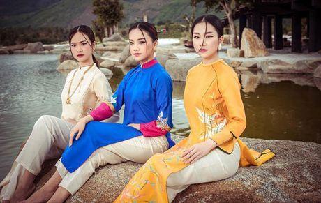 Dan nguoi dep Hoa hau Viet Nam dep me man voi ao dai - Anh 4