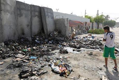 Danh bom lieu chet o Baghdad, hon 50 nguoi thuong vong - Anh 1