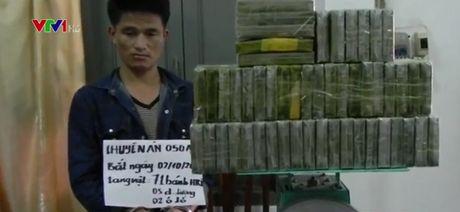 Bat vu van chuyen 72 banh heroin - Anh 1