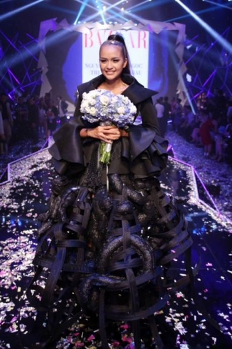 Ngoc Chau tro thanh quan quan Vietnam Next Top Model mua thu 7 - Anh 2