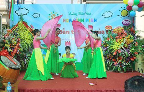 Khanh thanh Truong Mam non Hoa Binh Minh chao don hoc sinh moi - Anh 5