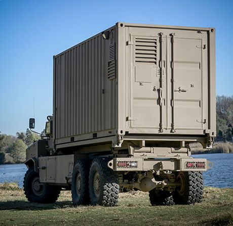 Denel Africa Truck - Chiec xe tai quan su doc dao den tu Nam Phi - Anh 3
