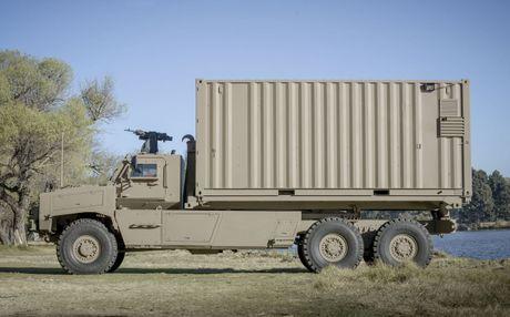 Denel Africa Truck - Chiec xe tai quan su doc dao den tu Nam Phi - Anh 4