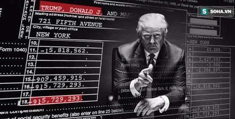 Tiet lo ho so thue cua Trump: 'Cu soc' thang 10 cua bau cu My 2016 - Anh 1