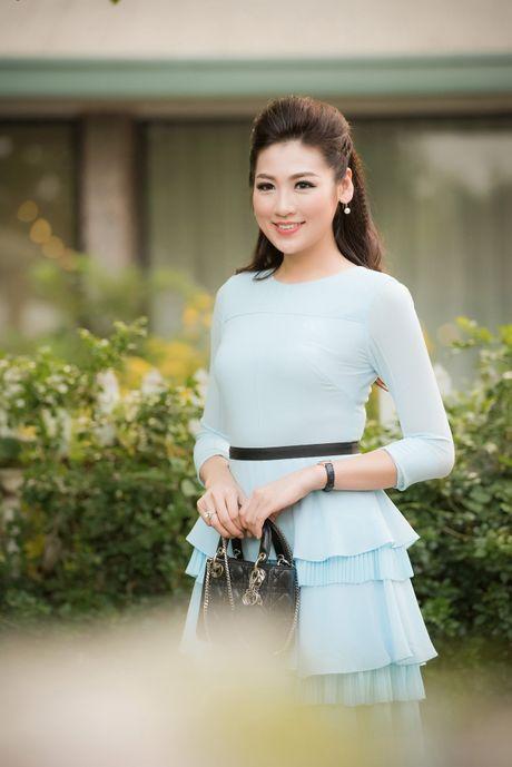 A hau Tu Anh, Thanh Tu chuc mung Ngoc Han thanh 'ba chu' - Anh 5