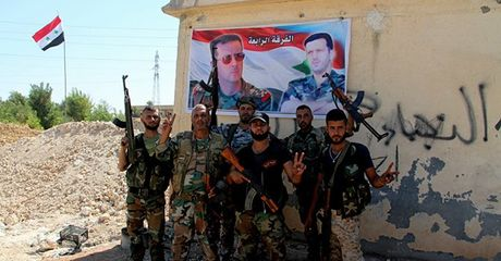 Pha vo tuyen phong thu, quan doi Syria tan cong quan tay bac Aleppo - Anh 1
