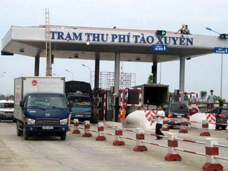 Kiem tra viec thu phi tai tram thu phi Tao Xuyen - Anh 1