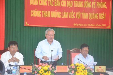 Kiem tra, giam sat ve phong, chong tham nhung tai Quang Ngai - Anh 1