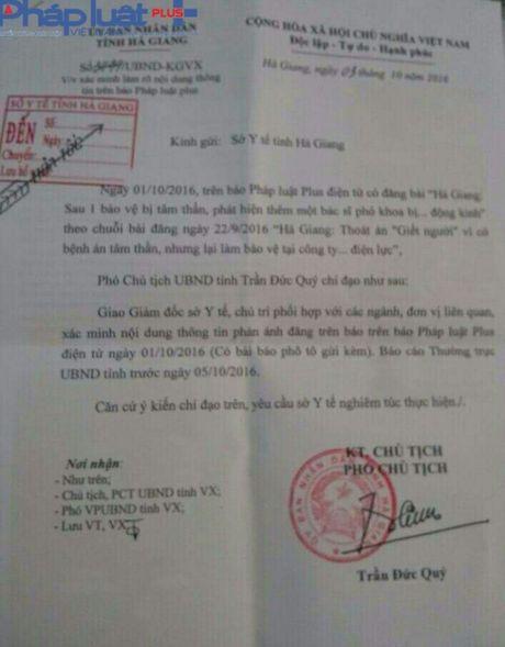 Vu nghi loi dung benh an tam than de tron toi: UBND tinh Ha Giang chi dao khan truong lam ro - Anh 1