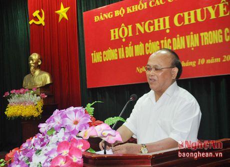 Thuc hien hieu qua co che 'Dang lanh dao, nha nuoc quan ly, nhan dan lam chu' - Anh 3